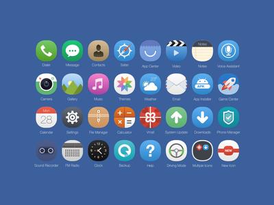 iOS 8 Icons Concept