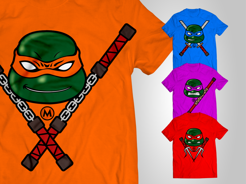 half off cute cheap reliable reputation Free TMNT 2014 T-shirts (Made for Fun) by Zee Que ...