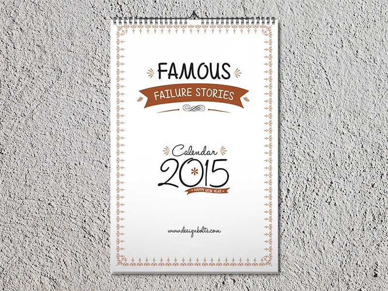 printable free calendar 2015 design template dribbble