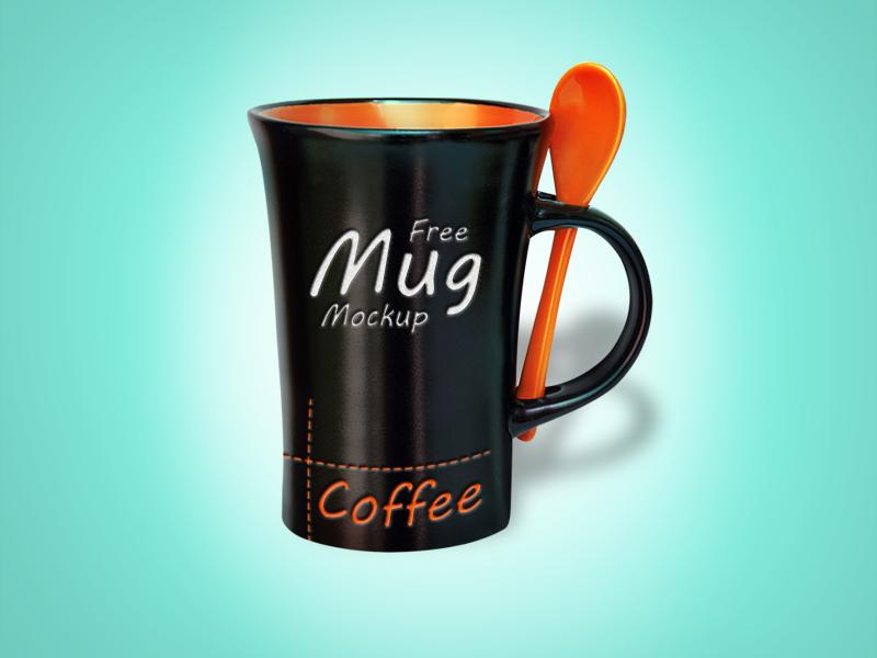 Free Black Mug Mockup Psd mockup psd free mockup mug mockup
