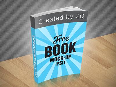 Free Book Mockup PSD free mockup mockup psd free psd book mockup
