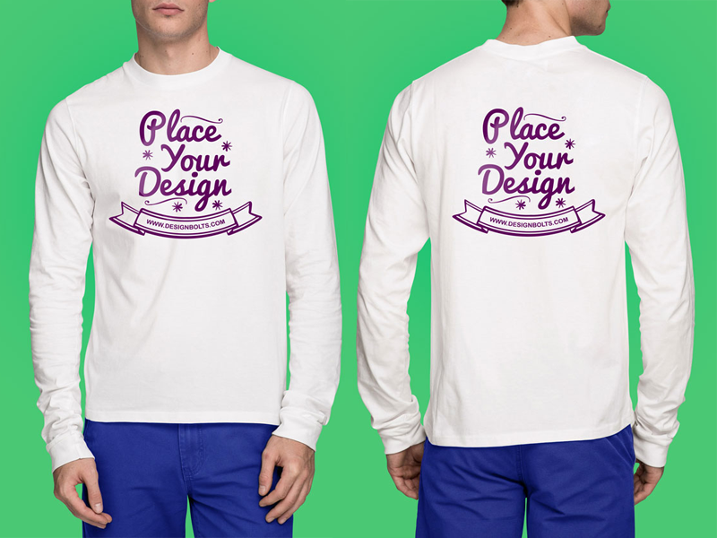 Free High Quality White T Shirt Mock Up Psd By Zee Que Designbolts