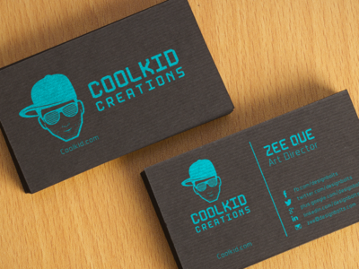 Free Black Textured Business Card Design & Mockup PSD