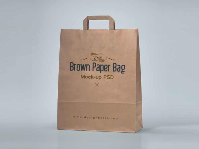 Free Brown Paper Shopping Bag Packaging Mock-Up Psd packaging mockup shopping bag mockup free mockup mockup psd shopping bag free bag mockup mock-up free mockup 2016