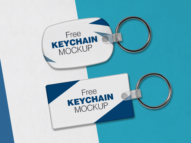 free keychain mockup psd files by zee que designbolts dribbble
