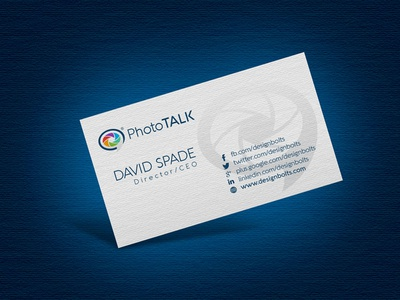 Free Logo Business Card Design Template Mockup PSD By Zee Que - Free business card design templates