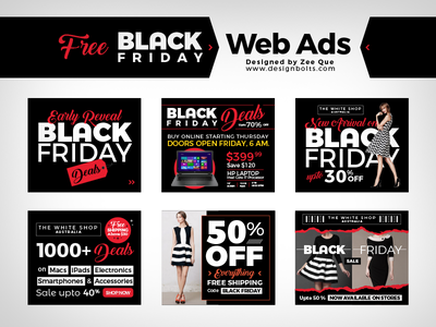 Black Friday Ads Designs Themes Templates And Downloadable Graphic Elements On Dribbble