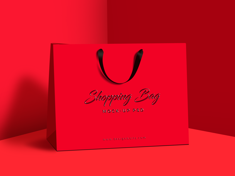 free premium shopping bag mock up psd by zee que designbolts