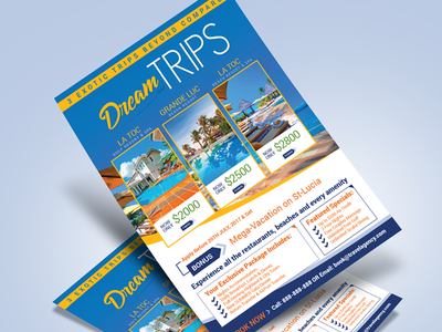Free Travel Agency / Vacation Flyer Design Template free flyer template flyer design template vacation flyer travel agency flyer flyer freebie flyer template free flyer travel flyer