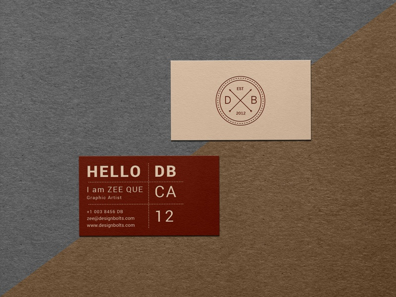 Free vintage textured business card mockup psd by zee que free textured business card mockup psd reheart Image collections
