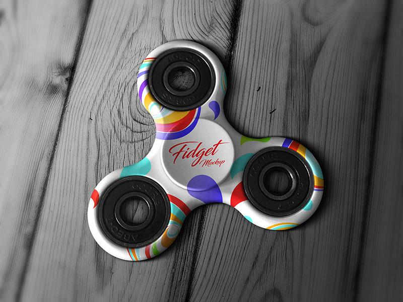 Free Tri-Fidget Spinner Hand Toy Mockup PSD free download freebie mockup psd free mockup psd mockup fidget toy spinner fidget fidget spinner