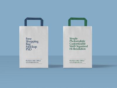 Free Paper Shopping Bag Mockup PSD paper bag mockup bag mockup free mockup psd free mockup psd shopping bag shopping bag mockup