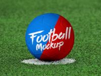 Free Soccer / Football Mockup PSD