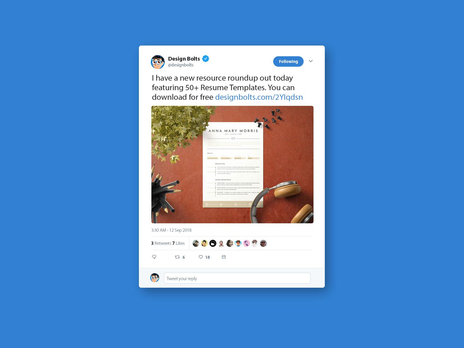free twitter tweet ui mockup psd 2018 by zee que