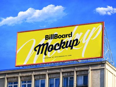 Free Billboard On Building Mockup PSD outdoor mockup free download mock-up free psd psd psd mockup mockup freebie free mockup mockup psd