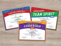 Free Cheerleader Award Certificate Design Templates Ai & PDF