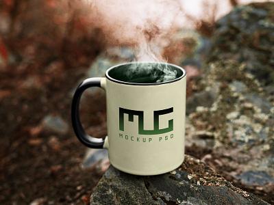 Free Vintage Coffee Mug Mockup PSD free mockup mockup mug mug design mug mockup