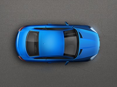 Endless Racing racing 2d vehicle top view car illustration