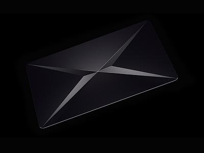 X Card  supernormal x card black c4d bank card
