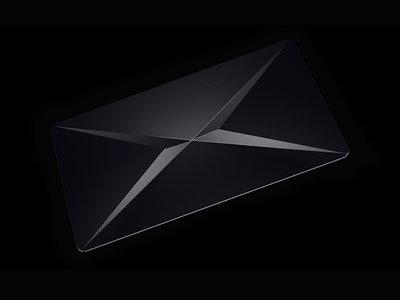 X Card  supernormal x card black c4d bank card