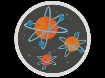 Pin Planet-atom