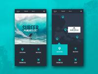 Surfer Paradise UI