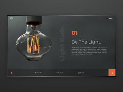 Light Bulb / Web UI