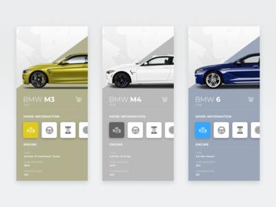 BMW / App UI