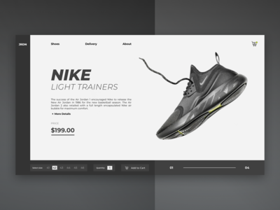 Nike Shop / Web UI