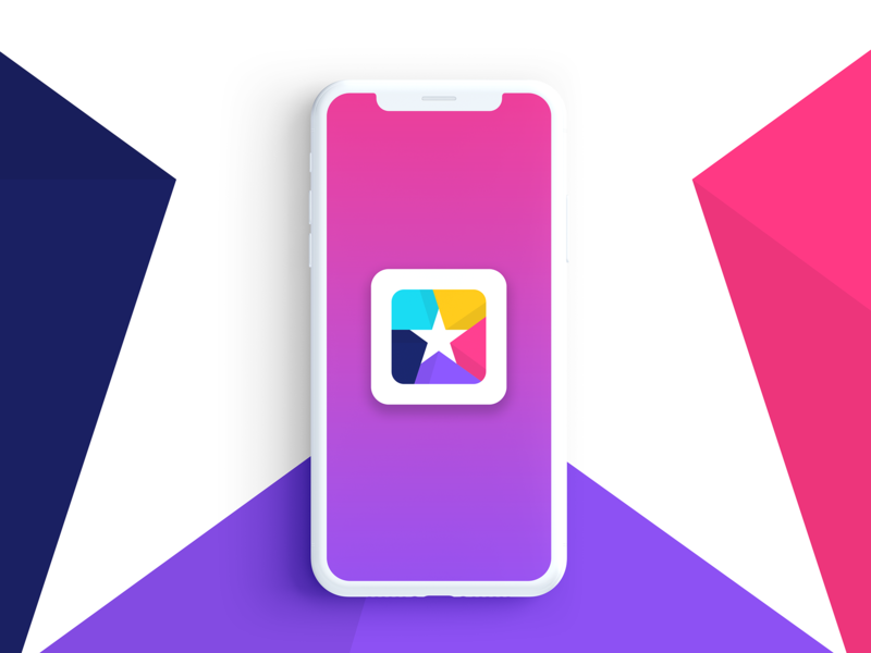 Star + Box / App Icon fav favorite cube vector application app ux ui icon branding design logo box star