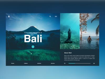 Bali / Web UI