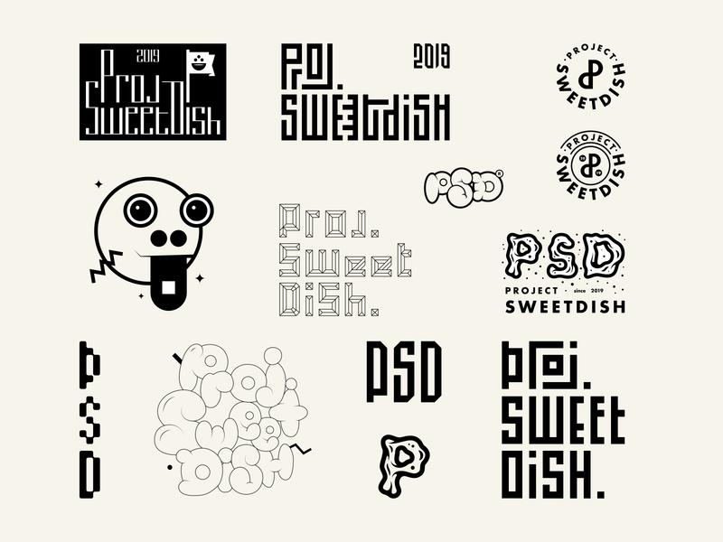 Concept Logo - Project Sweet Dish branding design vector logodesign brand identity logo