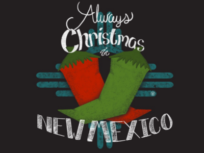 Always Christmas in New Mexico