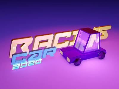 3D car 3d art web дизайн ілюстрація design illustration