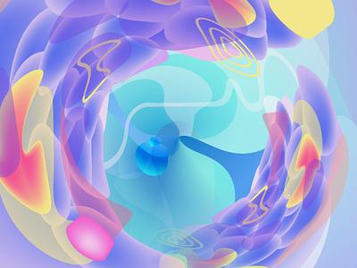 Flourishing thoughts flat vector minimal ілюстрація design illustration
