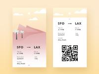 UI #17 boarding pass