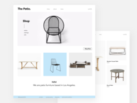The Patio - Ecommerce Site