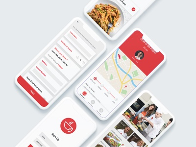 Search for Chef App food app food mobile app design chef cooking mobile app mobile ux design ui