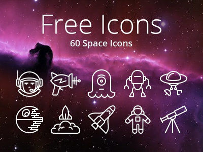 60 Free iOS Icons - Space 3d touch toolbar tab bar ios 9 android ios space pixellove icons vector free