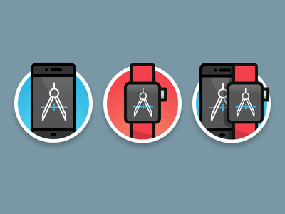 iOS & WatchKit Product Icons pixellove checkout paymant cart icons watchkit ios