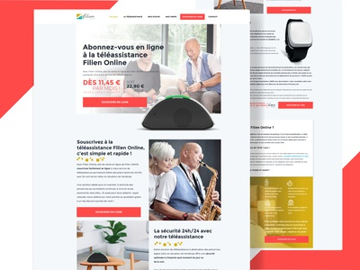 Website Design for French Home Assistance Company