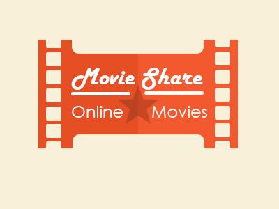 Movieshare Logo movies design logo metro ui