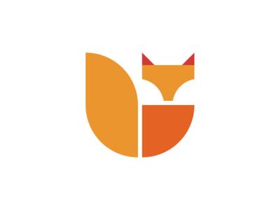 Fox + Shield Logo dailylogochallenge Day16 Fox logo