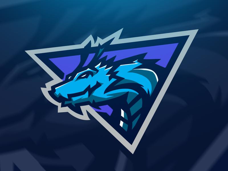 Ice Dragon logos logoinspire logo exploration logo esports logo esport logo designer logo design logodesign logo esports logo esports esport logo esportlogo esport