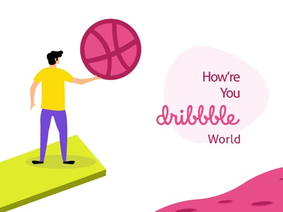 Welcome me please - Dribble