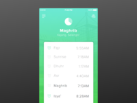 Rebound - Prayer App Concept