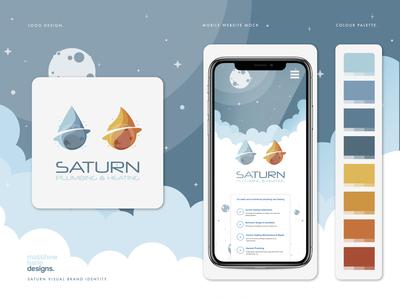 Saturn Plumbing & Heating Rebrand Concept.