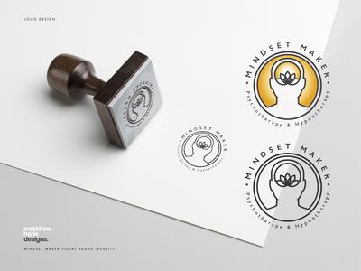 Mindset Maker Psychotherapy & Hypnotherapy Logo Design.