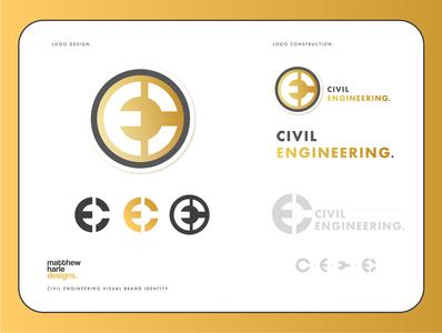 Civil Engineering Logo Concept