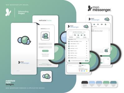 Msn Messenger Rebrand Concept